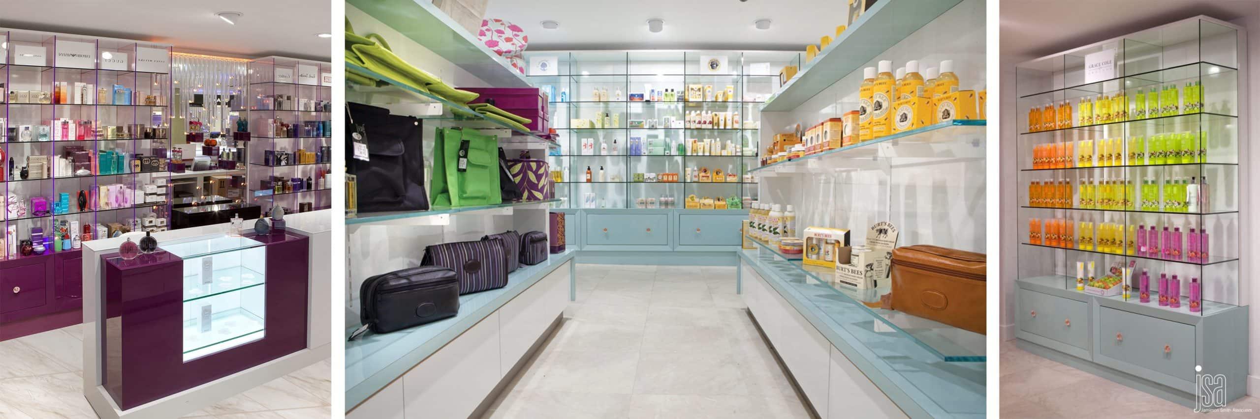 Yellow Brick Road Interior Design Devon - Barkers Cosmetics Hall