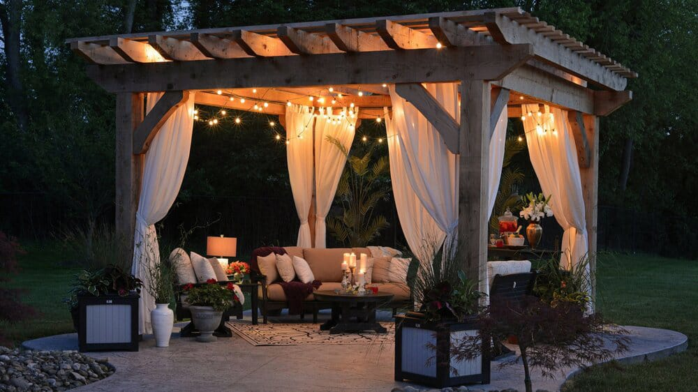 structures for outdoor spaces