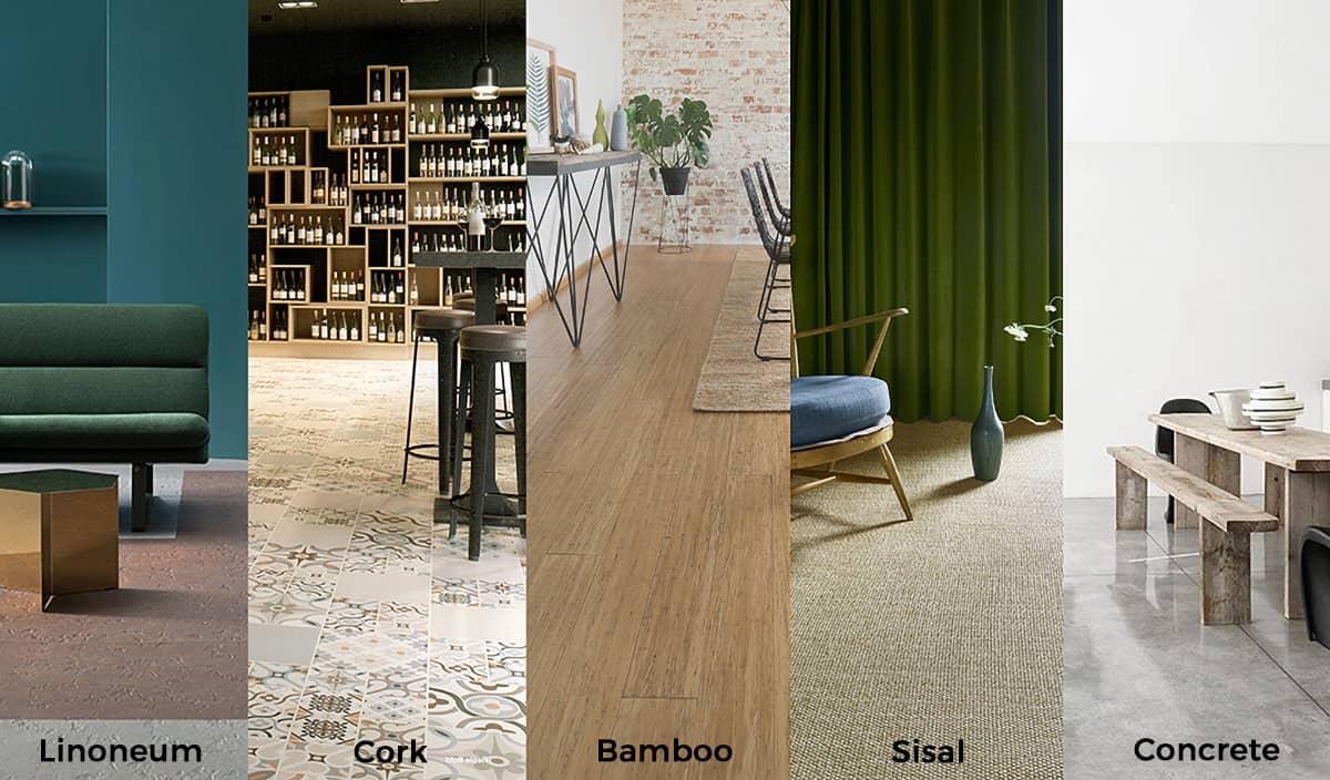 Sustainable Floor Finishes - Yellow Brick Road Design Totnes Devon