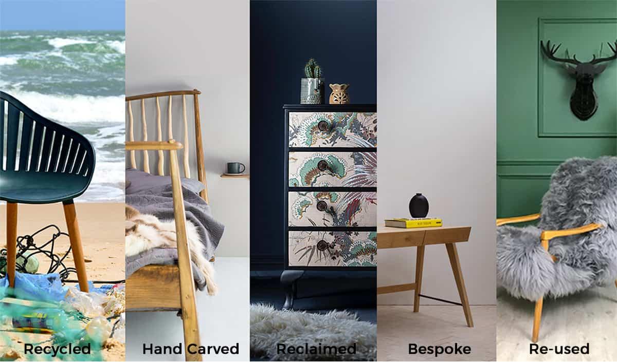 Sustainable Furniture - Yellow Brick Road Design Devon