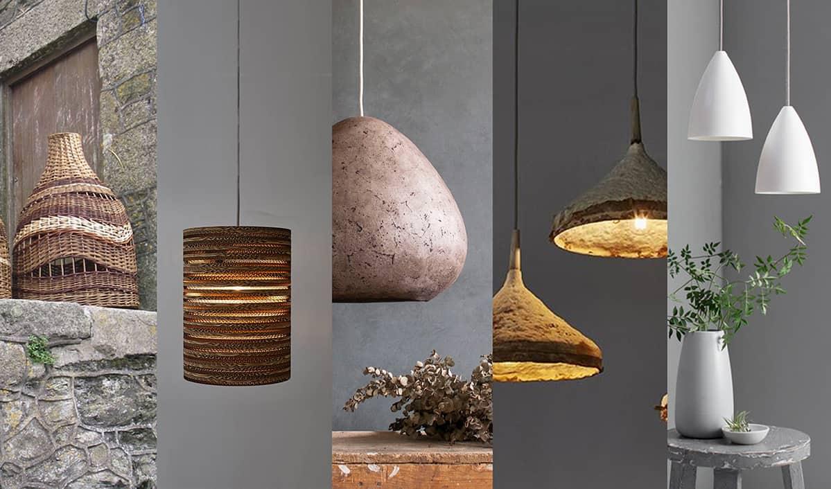 Sustainable Interior Design Lighting - Yellow Brick Road interior design Totnes Devon