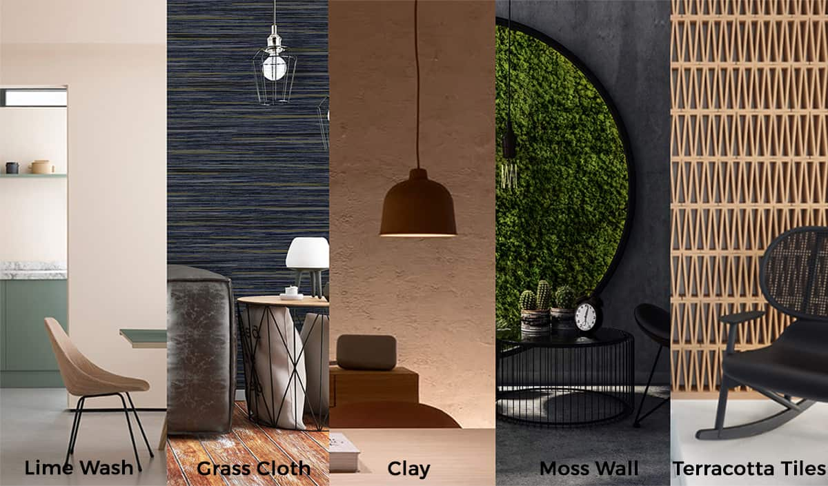 Sustainable Wall Finishes - Yellow Brick Road Design Devon