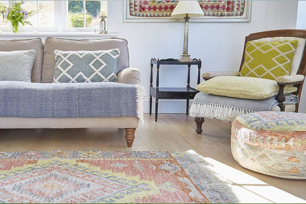 Sustainable Devon Interior design rugs
